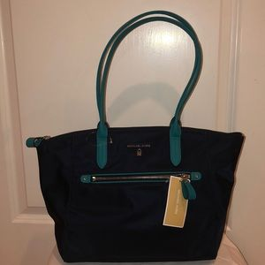 Michael Kors Naylon Kelsey Tote Bag